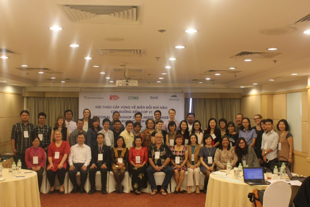 Participants to the Workshop on PreCop: Road to Paris, Hanoi, Vietnam